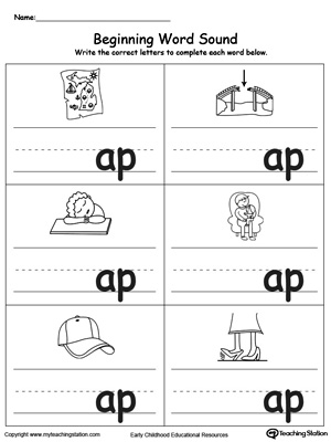 Common Worksheets » Beginning And Ending Sounds Worksheets ...
