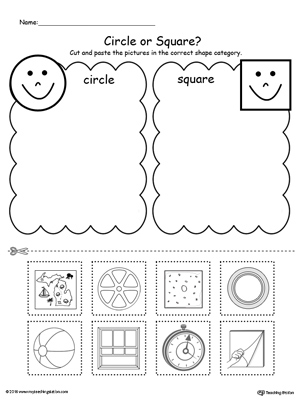 Kindergarten Math Printable Worksheets | MyTeachingStation.com