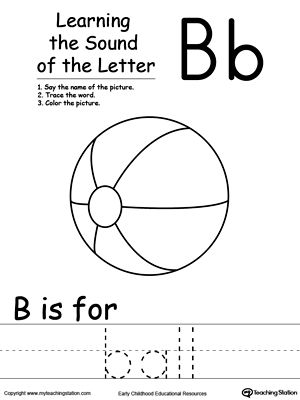 Kindergarten Phonics Printable Worksheets | MyTeachingStation.com