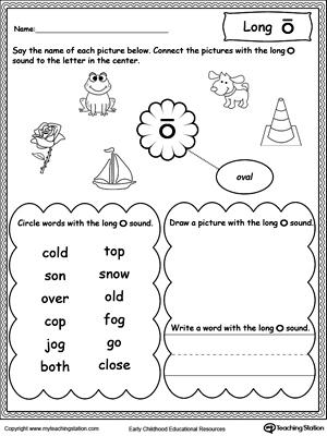 Vowels: Short or Long O Sound Words | MyTeachingStation.com
