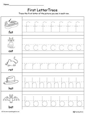 Kindergarten Writing Printable Worksheets   MyTeachingStation.com