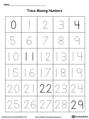 math worksheet : images of printable number tracing worksheets for kindergarten  : Free Printable Number Worksheets For Kindergarten