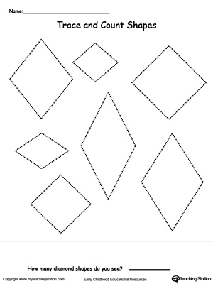 Kindergarten Math Printable Worksheets | MyTeachingStation.com