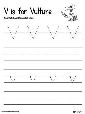 Common Worksheets » Letter V Worksheets - Preschool and ...