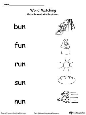 Number Names Worksheets : phonics worksheets kindergarten ...