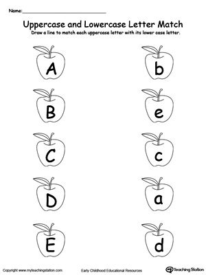 Number Names Worksheets Matching Worksheets Free Printable