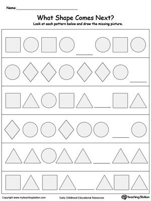 Kindergarten Sight Words Printable Worksheets | MyTeachingStation.com