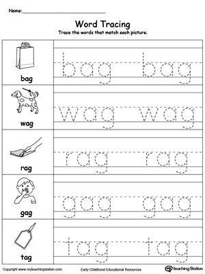 all worksheets 3 letter word tracing worksheets printable worksheets guide for children and. Black Bedroom Furniture Sets. Home Design Ideas
