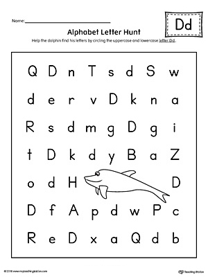 Common Worksheets » Letter D Worksheets - Preschool and ...