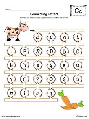 Common Worksheets » C Worksheets For Kindergarten - Preschool and ...