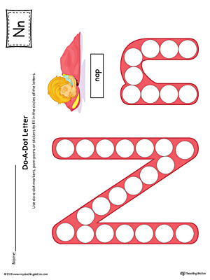 Common Worksheets letter nn worksheet : Kindergarten Printable Worksheets   MyTeachingStation.com