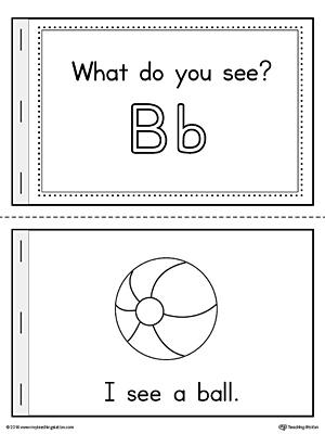 Kindergarten Reading Printable Worksheets | MyTeachingStation.com