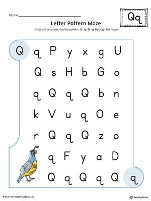 All Worksheets » Letter Q Worksheets - Printable Worksheets Guide ...