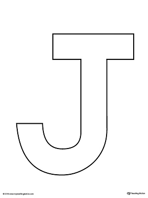 Kindergarten printable worksheets for Letter j template preschool