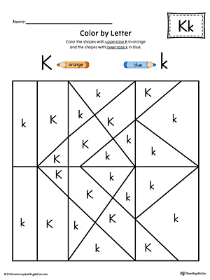 Common Worksheets » The Letter K Worksheets - Preschool and ...