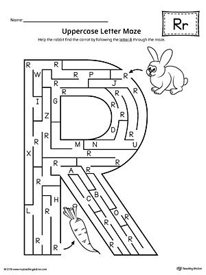 Common Worksheets » Letter R Practice - Preschool and Kindergarten ...