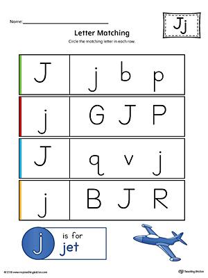 Letter J Worksheets For Preschool Ibovnathandedecker