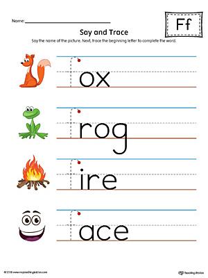 Preschool Phonics Printable Worksheets | MyTeachingStation.com