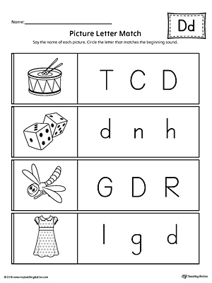 uppercase and lowercase letter d printable writing mat. Black Bedroom Furniture Sets. Home Design Ideas
