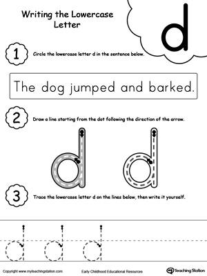Kindergarten Letters Printable Worksheets | MyTeachingStation.com