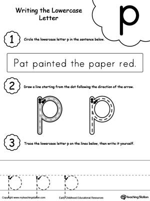 Number Names Worksheets Letter P Worksheets Free Printable