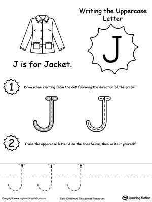 letter j template preschool - the letter j is for jar