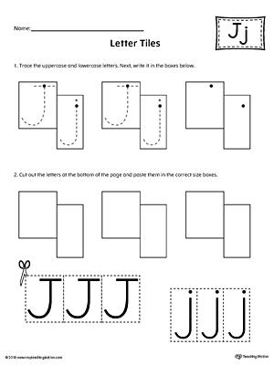 Common Worksheets » Letter J Worksheets For Kindergarten ...