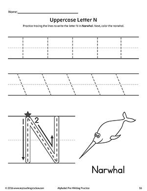 Preschool Worksheets » Letter N Preschool Worksheets - Free ...
