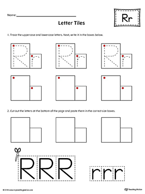 Number Names Worksheets : letter r worksheets kindergarten Letter ...
